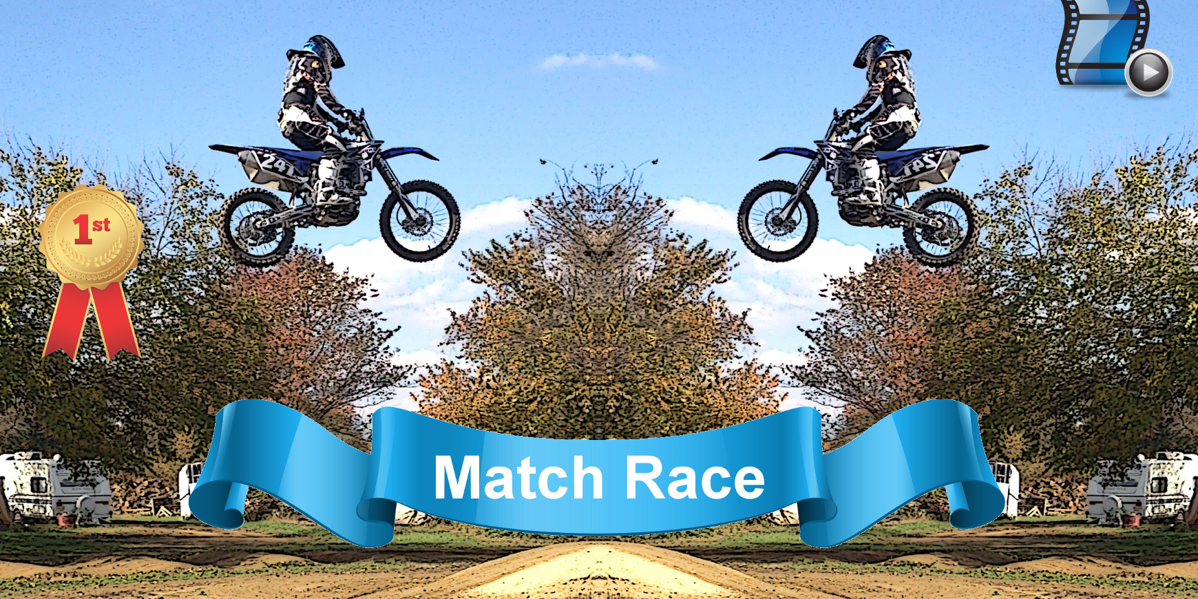 Match Race app for Motocross and all forms of racing